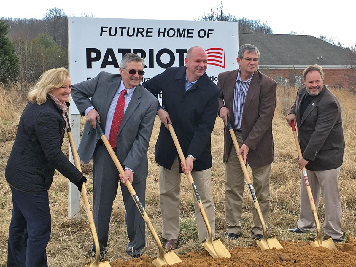 Patriot Groundbreaking in Dunkirk