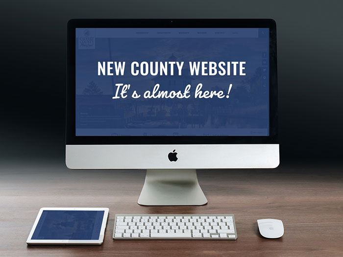 Calvert County government new website coming soon